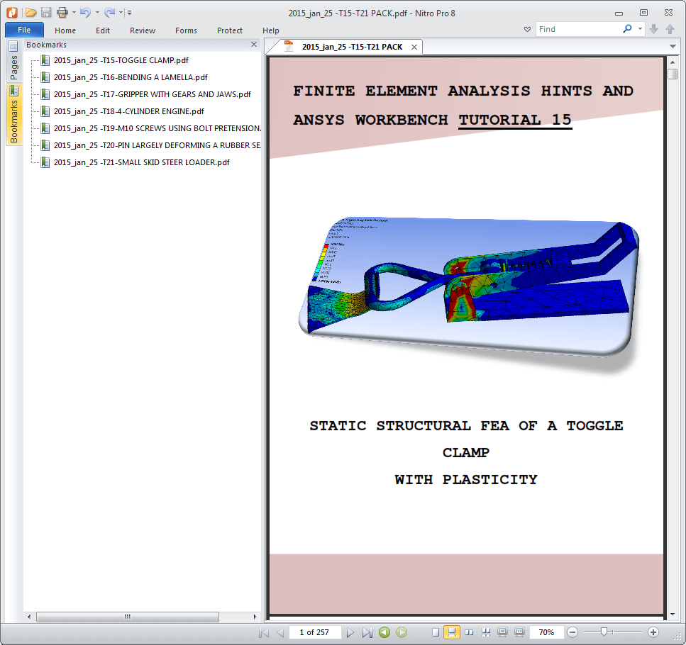 Best ANSYS Workbench tutorials and SIMULIA Abaqus FEA!